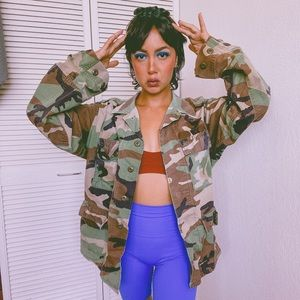 Military jacket size S/M oversized fit